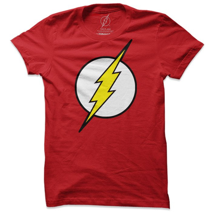 The Flash: Classic Logo - The Flash Official T-shirt