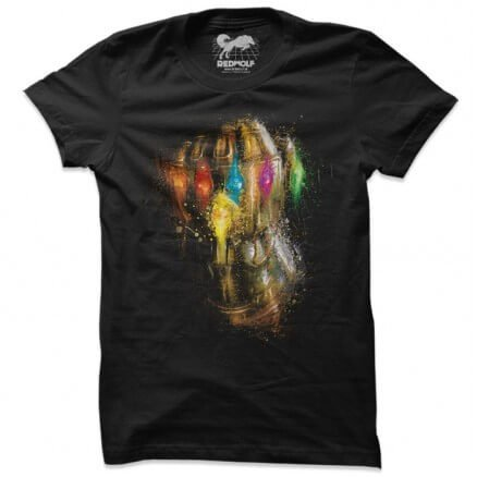 Thanos: Infinity Gauntlet - Marvel Official T-shirt