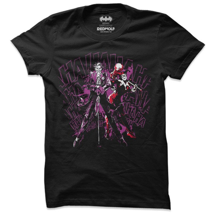 The Joker & Harley - DC Comics Official T-shirt