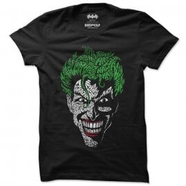 The Joker Face - Joker Official T-shirt
