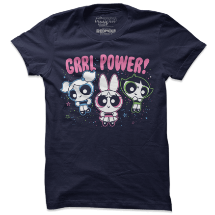 Grrl Power - The Powerpuff Girls Official T-shirt