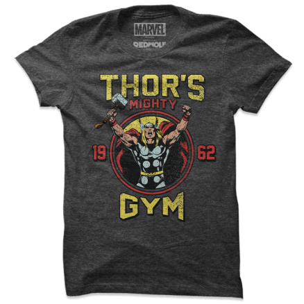 Thor's Mighty Gym - Marvel Official T-shirt