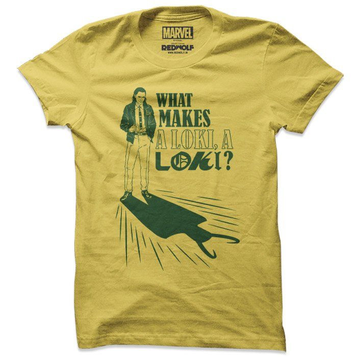 What Makes A Loki - Marvel Official T-shirt