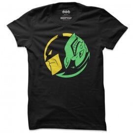 Yin And Yang - Batman Official T-shirt
