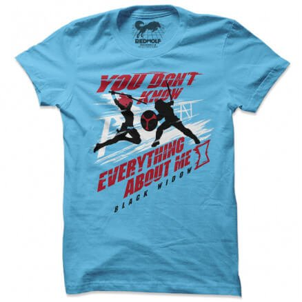You Don't Know Everything About Me - Marvel Official T-shirt