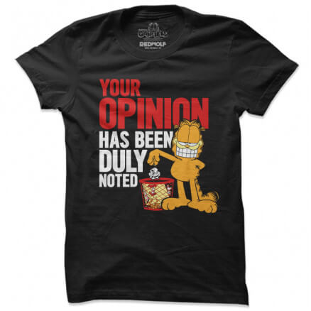 Your Opinion - Garfield Official T-shirt