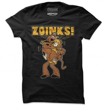 Zoinks! - Scooby Doo Official T-shirt