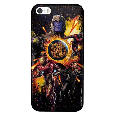 Fiery Avengers - Marvel Official Mobile Cover
