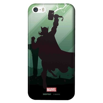 Thor Silhouette - Marvel Official Mobile Cover