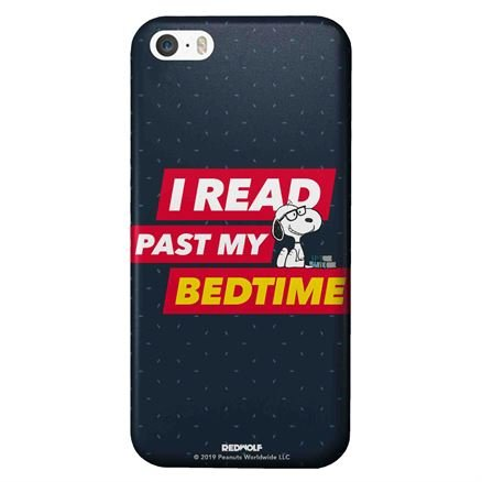 I Read Past My Bedtime - Peanuts Official Mobile Cover