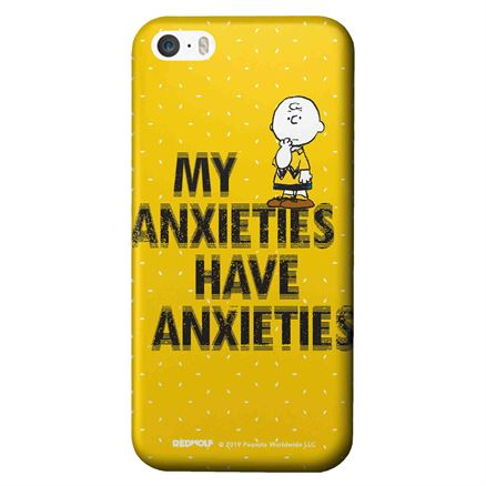 My Anxieties Have Anxieties - Peanuts Official Mobile Cover