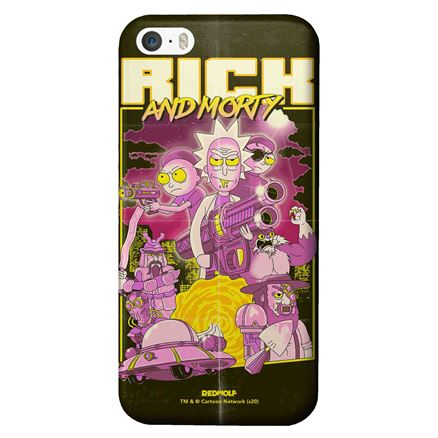 Film Poster - Rick And Morty Official Mobile Cover