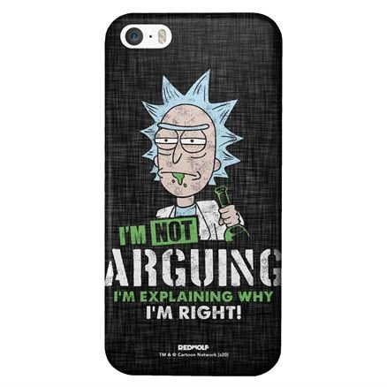 I'm Not Arguing - Rick And Morty Official Mobile Cover