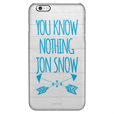 You Know Nothing Jon Snow - Mobile Cover