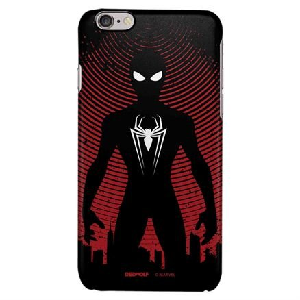 Spider Silhouette - Marvel Official Mobile Cover