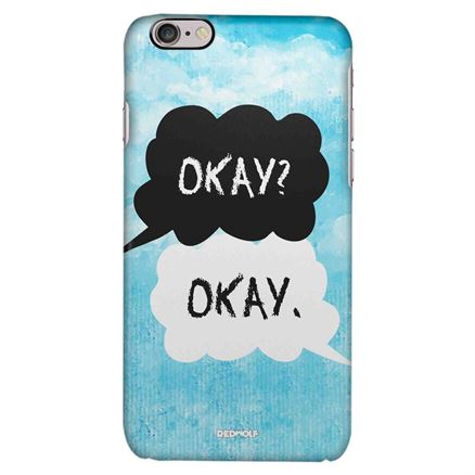 The Fault In Our Stars - Okay Okay - Mobile Cover