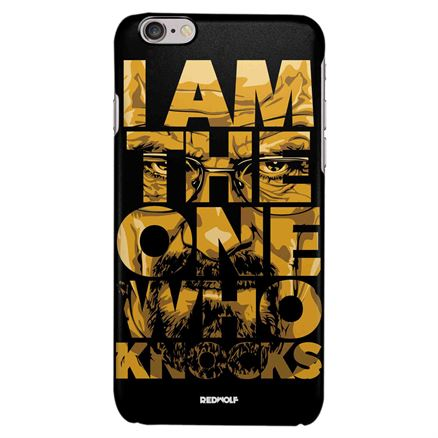 I Am The One Who Knocks - Mobile Cover