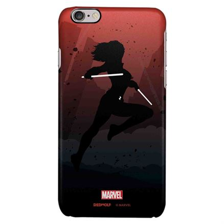 Black Widow Silhouette - Marvel Official Mobile Cover