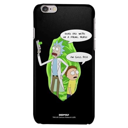 Looks Like We Are On A Mobile Cover - Rick And Morty Official Mobile Cover