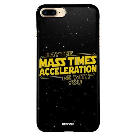 Mass Times Acceleration - Mobile Cover