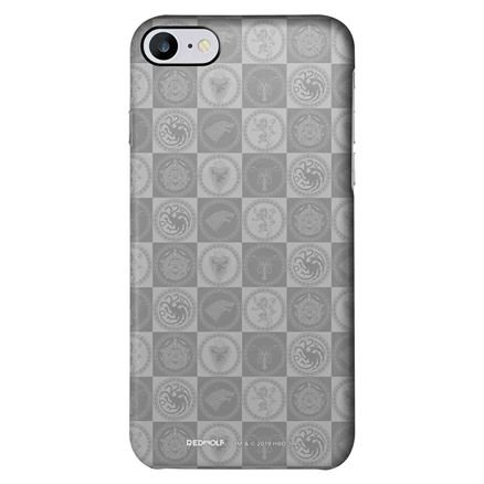 Tonal Sigil Block Pattern - Game Of Thrones Official Mobile Cover