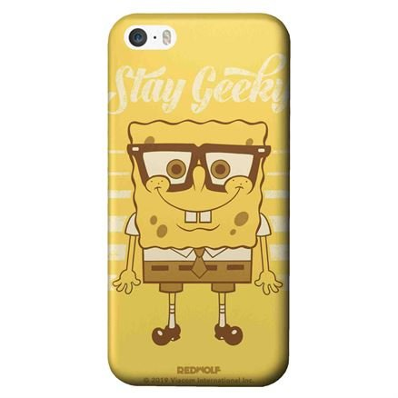 Stay Geeky - Spongebob Squarepants Official Mobile Cover