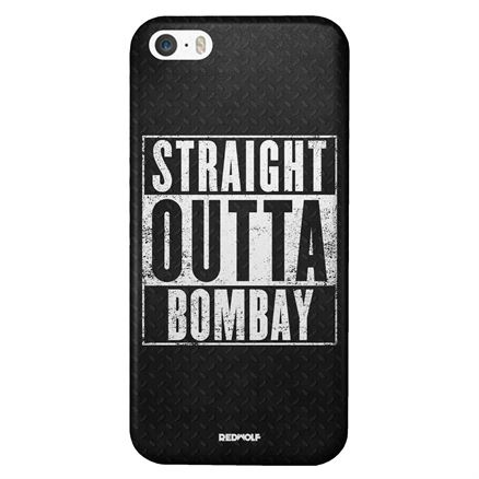 Straight Outta Bombay - Mobile Cover