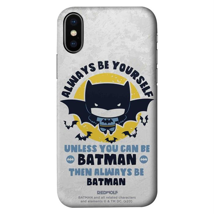Be Batman - Batman Official Mobile Cover