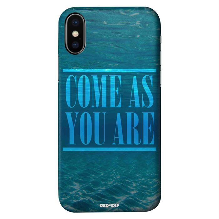 Come As You Are - Mobile Cover