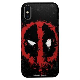 Deadpool Logo Splatter - Marvel Official Mobile Cover