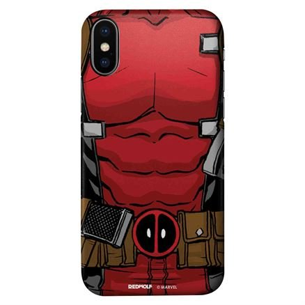 Deadpool Suit - Marvel Official Mobile Cover