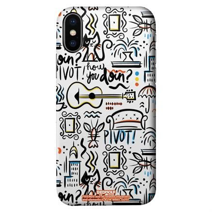 Friends: Doodle - Friends Official Mobile Cover