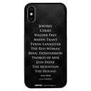 Arya's List - Game Of Thrones Official Mobile Cover