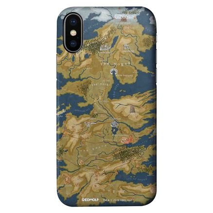 Cersei Lannister's Map - Game Of Thrones Official Mobile Cover