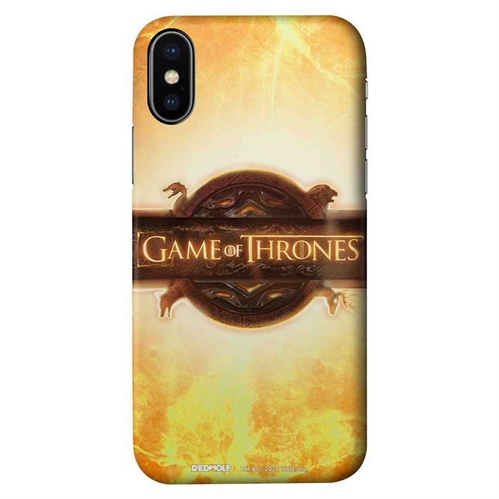 Game Of Thrones Logo - Game Of Thrones Official Mobile Cover