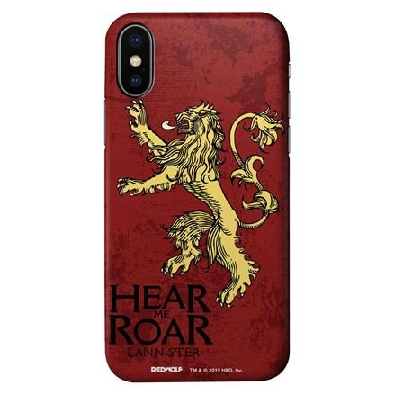 Hear Me Roar - Game Of Thrones Official Mobile Cover