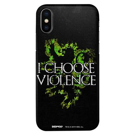I Choose Violence - Game Of Thrones Official Mobile Cover