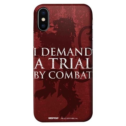 I Demand A Trial By Combat - Game Of Thrones Official Mobile Cover