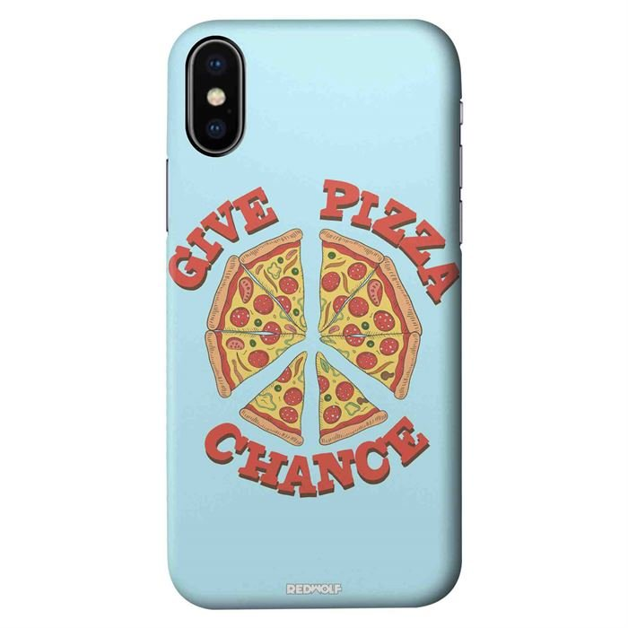Give Pizza Chance - Mobile Cover