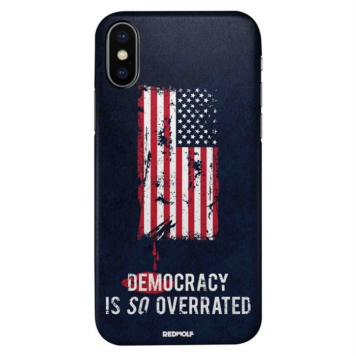 Democracy Is So Overrated - Mobile Cover