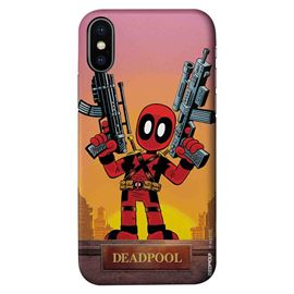 Kawaii Deadpool - Marvel Official Mobile Cover