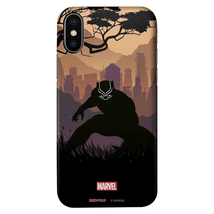 Black Panther Silhouette - Marvel Official Mobile Cover