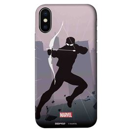 Hawkeye Silhouette - Marvel Official Mobile Cover