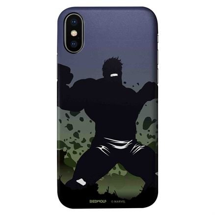 Hulk Silhouette - Marvel Official Mobile Cover