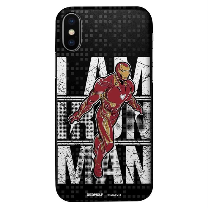 I Am Iron Man - Marvel Official Mobile Cover