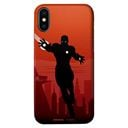 Iron Man Silhouette - Marvel Official Mobile Cover
