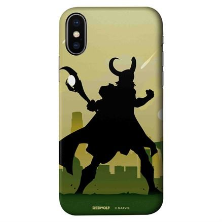 Loki Silhouette - Marvel Official Mobile Cover