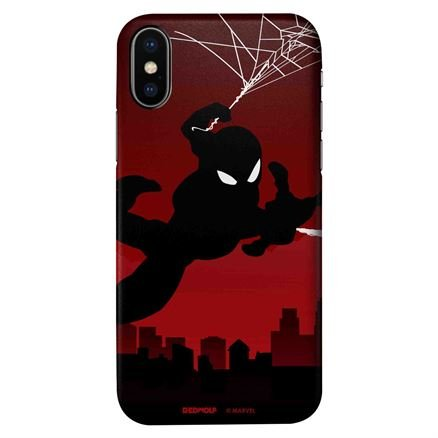 Spider-Man Silhouette - Marvel Official Mobile Cover