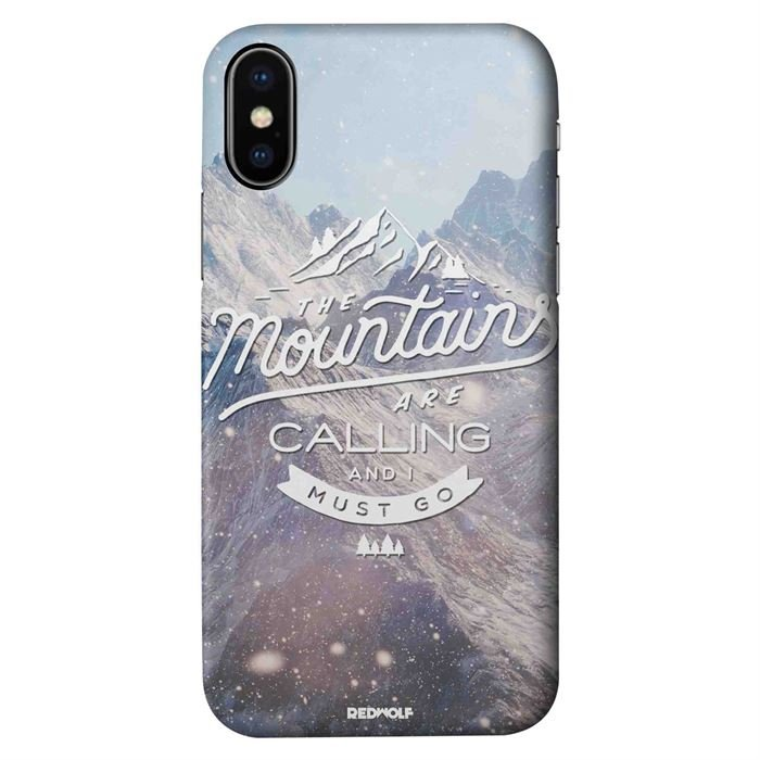 Mountains Are Calling - Mobile Cover