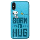 Born To Hug - Peanuts Official Mobile Cover
